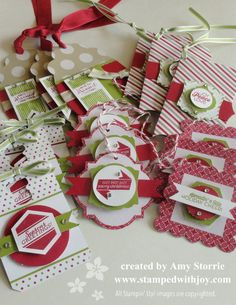 Pop & Place Gift Tags