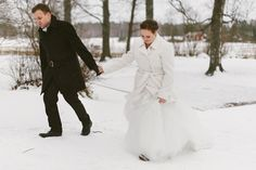 Finland, Portrait, Classic, Winter, Wedding, Derby, Winter Time, Valentines Day Weddings, Weddings