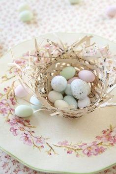 DIY Paper Nest - LOVE!!