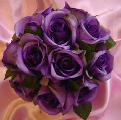 Lilac purple rose hand tied bouquet | Flickr - Photo Sharing!