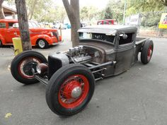 bare metal '34 Ford truck