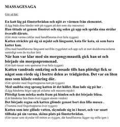 Massagesaga Learn Swedish, Swedish Language, Calm Down, Massage, Preschool, Mindfulness, Education, Learning, Communication