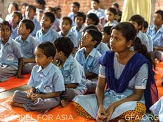 Children of all school ages come together in Bridge of Hope centers across South Asia. Together, they study, play, sing, pray and learn of Jesus' love for them. We want to give a big thank you to all of you Bridge of Hope sponsors who are making a difference in the lives of these kids!