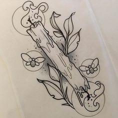 Tattoos And Body Art tatoo flash Neotraditionelles Tattoo, Leg Tattoos, Body Art Tattoos, Sleeve Tattoos, Cool Tattoos, Flash Tattoos, Sailor Tattoos, Tatoos, Tattoo Fonts