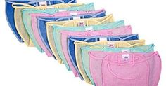 Reusable cloth diapers for baby