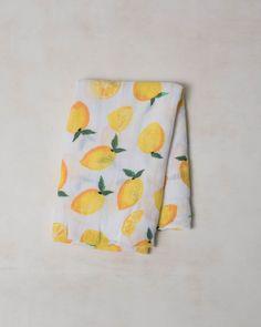 Cotton Swaddle - Lemon