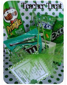 Saint Patrick's Day gift for teacher