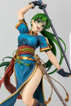 Fire Emblem Heroes - 1/7 - Lyndis - Intelligent Systems (?) - Statuen / PVC / Scale Figuren - Japanshrine 2.0 Intelligent Systems, Scale, Princess Zelda, Fire, Fictional Characters, Weighing Scale, Fantasy Characters, Libra, Balance Sheet