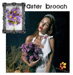 """Aster Brooch"" by varivodamar ❤ liked on Polyvore featuring Rustico and modern"