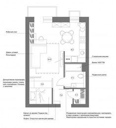 Квартира-студия   Идеи для ремонта