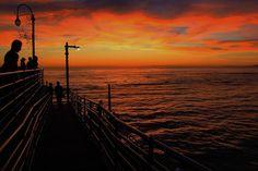 Awwww yea! #sunset #photooftheday #landscape #landscapephotography #horizon #orange #pier #beach #canon #canonphotos #canonphotography #bringit #goodlawd #latergram #travel #travelgram #travelphotography #nature #naturephotography #water #ocean #pacific #pacificocean #clouds #earth #wanderlust #instagood @discoverla #lastory @conquer_la @conquer_ca #conquer_la #conquer_ca