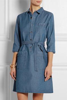 Denim Dresses   sheerluxe.com