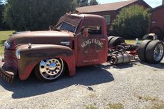 Meng's Forgotten Family Farm Truck Finally Gets Respect Rat Rod Cars, Hot Rod Trucks, Big Rig Trucks, Mini Trucks, Cool Trucks, Rat Rods, Lowrider Trucks, Dually Trucks, Farm Trucks