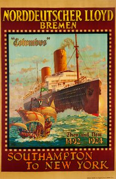 Browse > Ships and Boats | Vintage Posters at International Poster Gallery