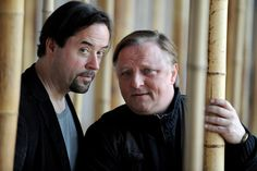 Jan-josef Liefers Actors Jan Josef Liefers (L) and Axel Prahl (R) pose during a photocall on set of the WDR Tatort 'Die chinesische Prinzess...