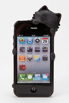 Cat over the Corner iPhone 4S case