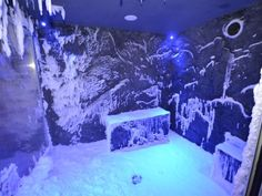 Latest gee-whiz cruise ship feature: Snow Grotto