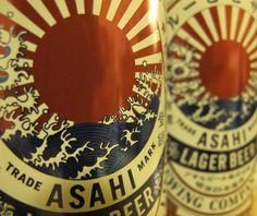 Asahi Beer label