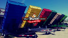 BWise & Bri-Mar Trailers - both industry-leading brands built by us. Learn more at our website. Trailers, Choices, Industrial, Website, Building, Fun, Tops, Hang Tags, Buildings