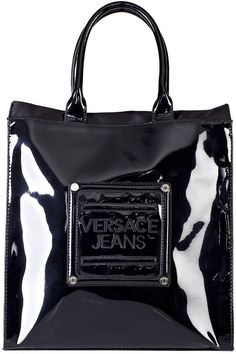 4197be577eed Versace Jeans Couture Bag Black - Lyst Versace Jeans Couture