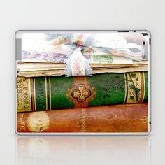Louisa May Alcott Laptop & iPad Skin by KarenHarveyCox - $25.00