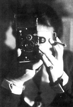 germaine krull. self-portrait