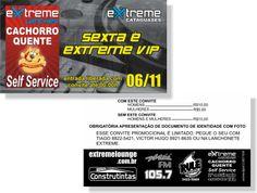 Sexta é Extreme Vip (Convite)