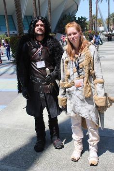 A Game of Cosplay! #Game #Of #Thrones YOU KNOW NUTTIN JON SNURRRRR!