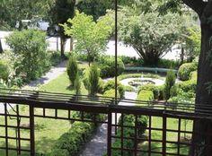 Anne Spencer's Garden in Lynchburg, VA Norton Anthology, American Poetry, Harlem Renaissance, Garden Bridge, Gardens, Outdoor Structures, Live, Places, Black