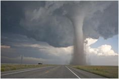Tornado-saw one of these once...crossed the road in front of me...we had 18 touch downs that  day here in Spring Green...terrifying.