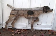 My Pallet Wood has Gone to the Dogs - Scavenger Chic #germanshorthairedpointer