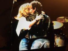 Bruce Springsteen & Julianne Phillips