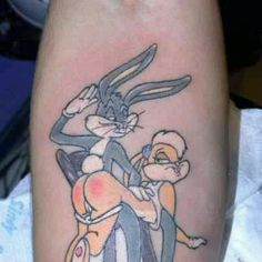 tatts on pinterest bugs bunny friendship tattoos and tattoos and body art. Black Bedroom Furniture Sets. Home Design Ideas