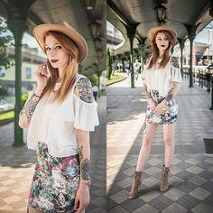 Get this look: http://lb.nu/look/8738699  More looks by Katarzyna Konderak: http://lb.nu/katepanth  #bohemian #casual #street #tropical #skirt