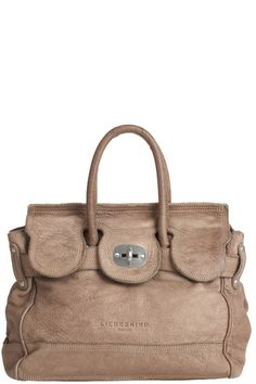 The Birkin's slouchier, more relaxed, cooler cousin. By LIEBESKIND.