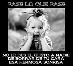 #frases vida, feliz, sonrisa, palabras, amor , kids