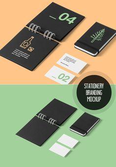 Corporate Stationery Branding Mockup #freebies #freepsdfiles #freepsdmockups #psdtemplates #freemockuptemplates