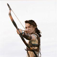 Keira Knightley in King Arthur (2004).