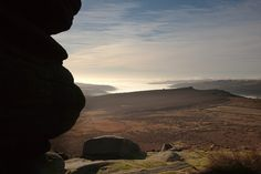 Looking towards Derwent Valley from Higger Tor.