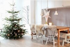 北欧クリスマスツリーデコレーション