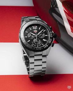 a6e14defacd Um tributo perfeito ao automobilismo! TAG Heuer Formula 1