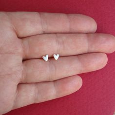 Extra Tiny Heart Earrings studs sterling silver gift women kids girl teen mom Jewelry for her mini spring http://www.etsy.com/listing/130940981/extra-tiny-heart-earrings-studs-sterling?ref=sr_gallery_34_search_query=Jewelry_view_type=gallery_ship_to=MK_page=2_search_type=all