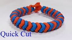 Two Color Snake Knot Quick Cut