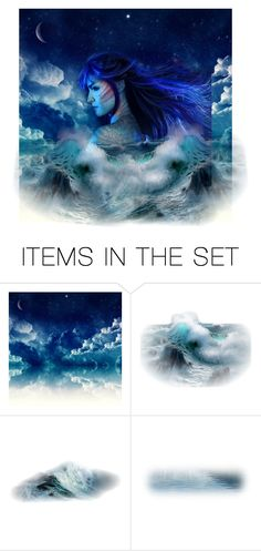 """""""Untitled #2057"""" by faeryrain ❤ liked on Polyvore featuring art, ocean and artexpression"""