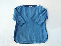 yaeca バスクシャツ petal sleeve