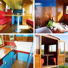 Tonke camper. Interior. Dutch design.