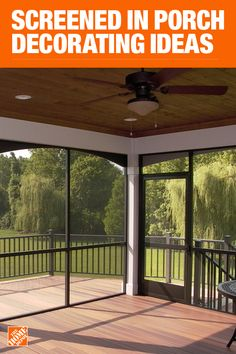 Eye-Opening Useful Tips: Natural Home Decor House Living Rooms organic home decor rustic powder rooms.Natural Home Decor Modern Ceilings organic home decor ideas mason jars.Natural Home Decor Apartment Therapy. Screened Porch Designs, Backyard Patio Designs, Screened In Porch, Front Porch, Home Porch, House With Porch, Design Seeds, Outdoor Spaces, Outdoor Living