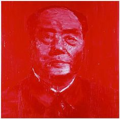 Portrait Officiel Rouge by Yan Pei Ming '03