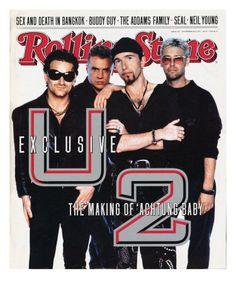 Rolling Stone Cover - Volume - - by Anton Corbijn U2 Music, Music Bands, Rock Music, Reggae Music, Adam Clayton, Pop Rock, Rock N Roll, Coldplay, Penelope Cruz