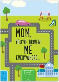 Mapped Miles - Mother's Day Greeting Cards in Bright Green | Magnolia Press